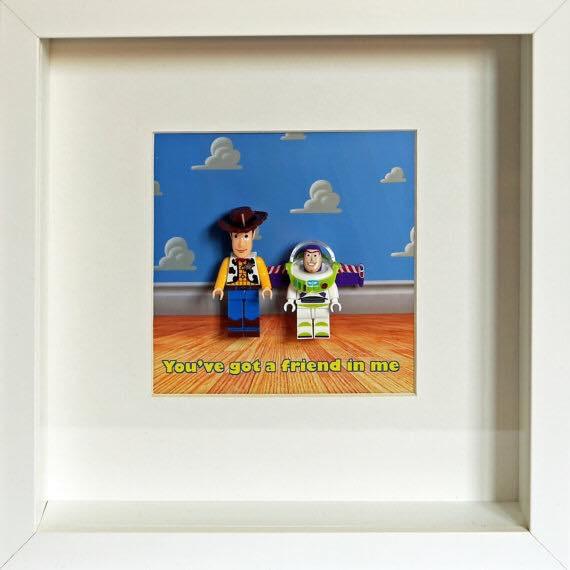 Toy Story Custom Lego Frame