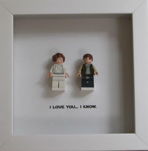 star wars custom lego frame